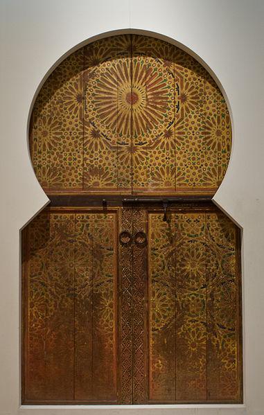 381px-WLANL_-_Pachango_-_Tropenmuseum_-_Deur_uit_Marrakech